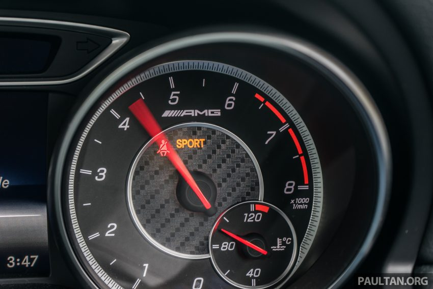 DRIVEN: 2016 Mercedes-AMG A45 – more everything Image #480784