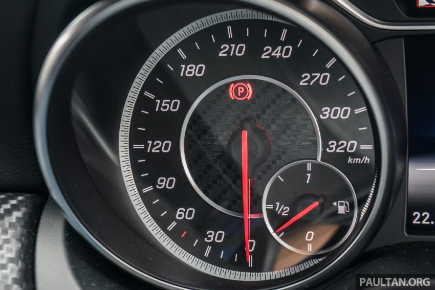 DRIVEN: 2016 Mercedes-AMG A45 – more everything Image #480785