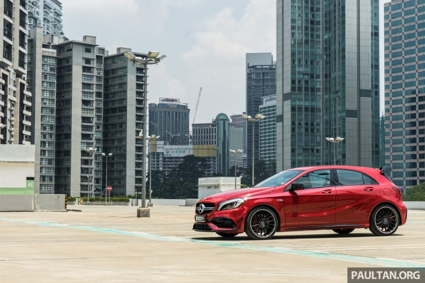 DRIVEN: 2016 Mercedes-AMG A45 – more everything Image #480731