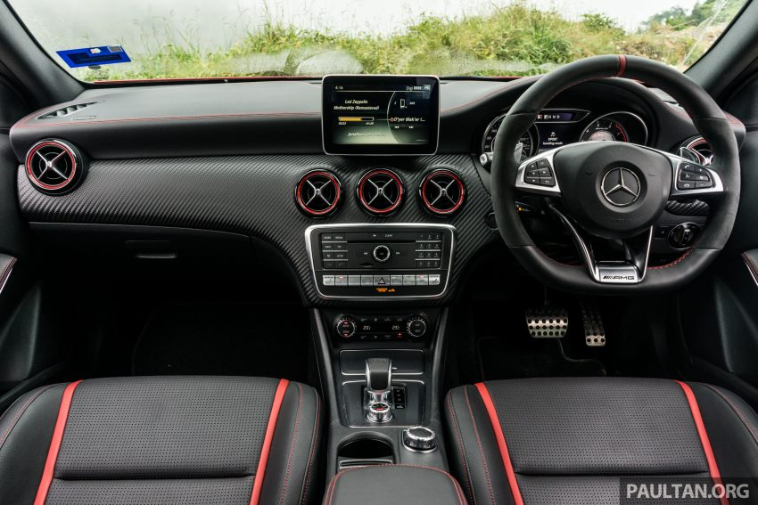 DRIVEN: 2016 Mercedes-AMG A45 – more everything Image #480810