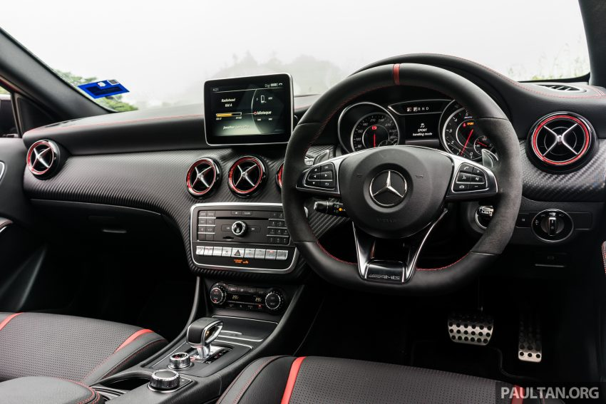 DRIVEN: 2016 Mercedes-AMG A45 – more everything Image #480813
