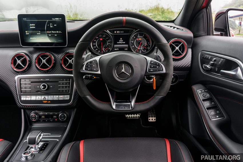 DRIVEN: 2016 Mercedes-AMG A45 – more everything Image #480815