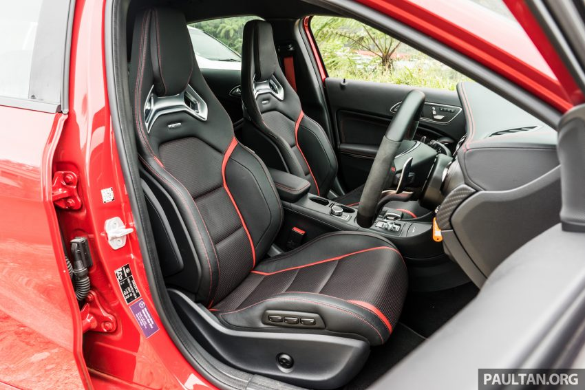 DRIVEN: 2016 Mercedes-AMG A45 – more everything Image #480817