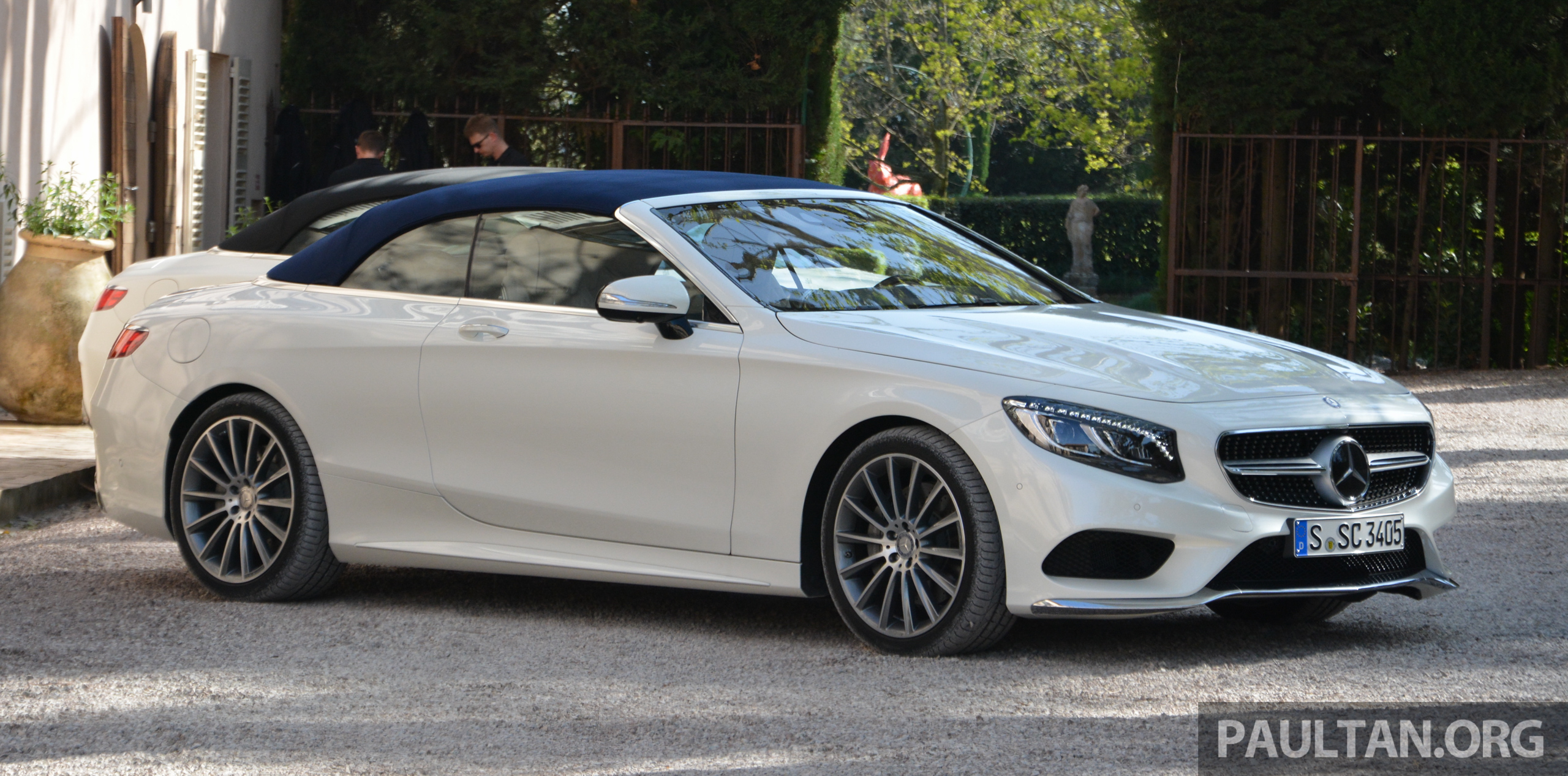 Driven a217 mercedes benz s class cabriolet s500 and for Mercedes benz s500 amg