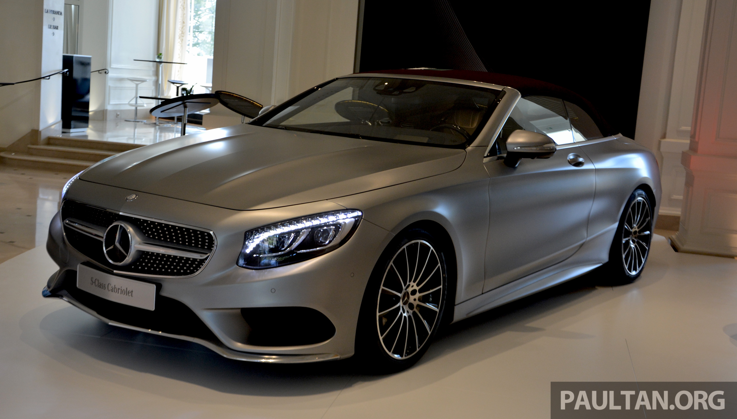 driven a217 mercedes benz s class cabriolet s500 and amg s63 4matic topless in the cote d. Black Bedroom Furniture Sets. Home Design Ideas