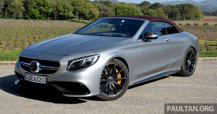 S63 2018 >> DRIVEN: A217 Mercedes-Benz S-Class Cabriolet – S500 and AMG S63 4Matic topless in the Cote d ...