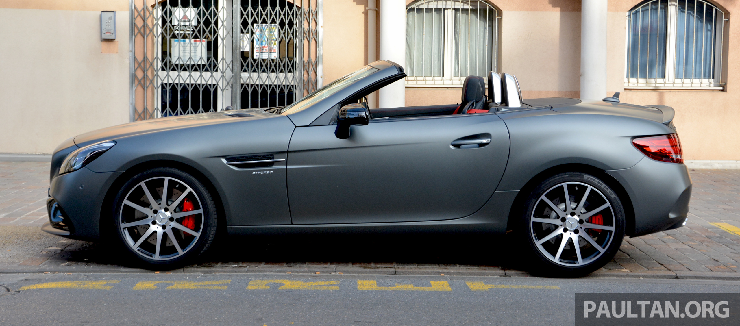 Driven mercedes amg slc43 in the french riviera image 474540 for Nice mercedes benz