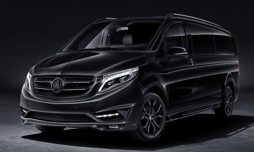 Mercedes V Class >> Mercedes-Benz V-Class 'Black Crystal' by Larte Design Paul ...