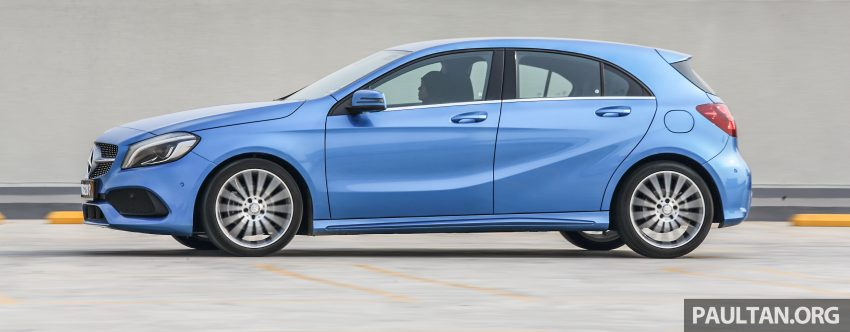 PANDU UJI: Mercedes-Benz A 200 AMG Line facelift – serlahan gaya seiring dengan karakteristik pemanduan Image #485225
