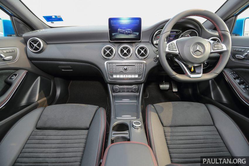 PANDU UJI: Mercedes-Benz A 200 AMG Line facelift – serlahan gaya seiring dengan karakteristik pemanduan Image #485252