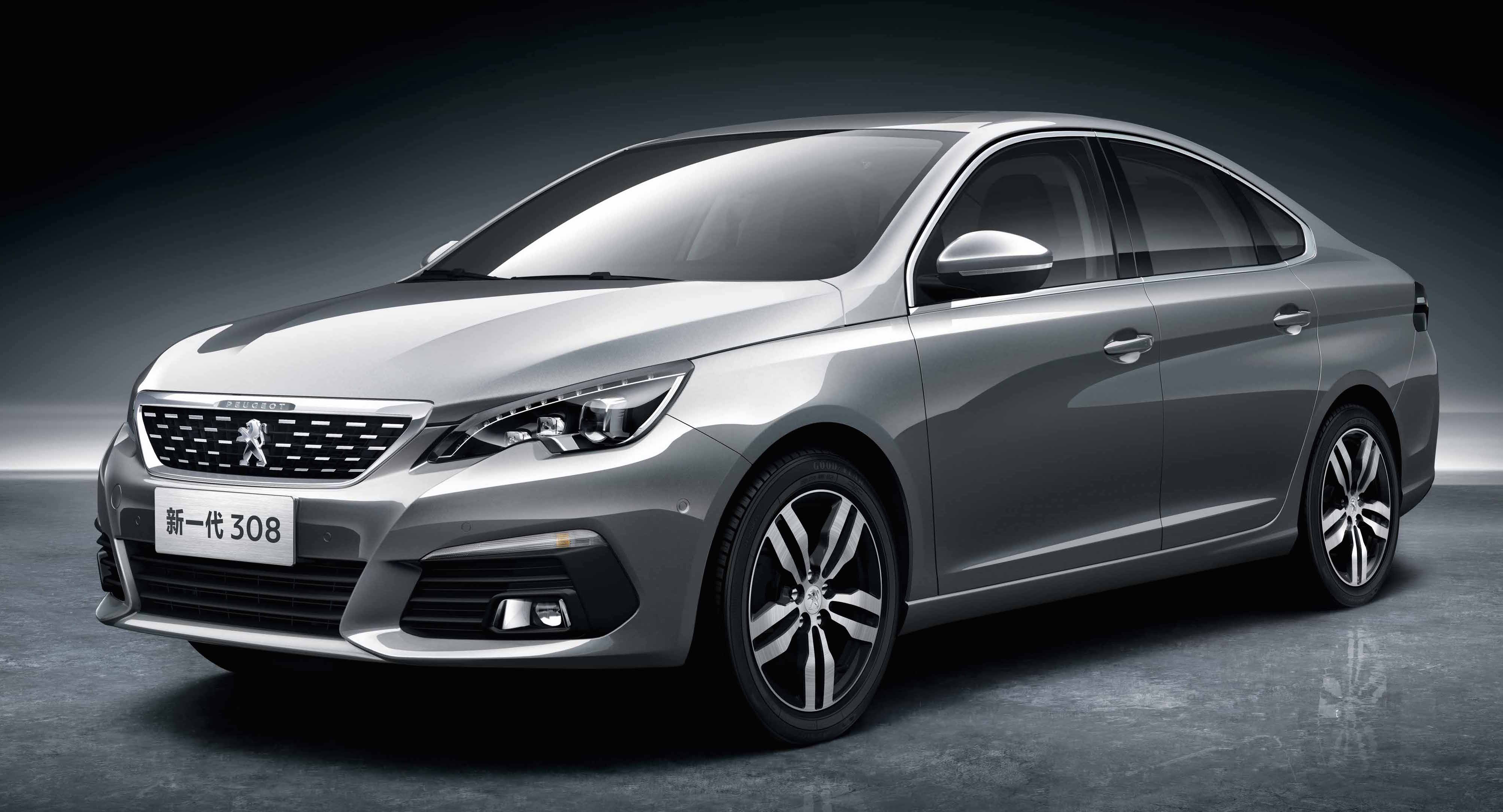 2016 peugeot 308 sedan for china exterior revealed. Black Bedroom Furniture Sets. Home Design Ideas