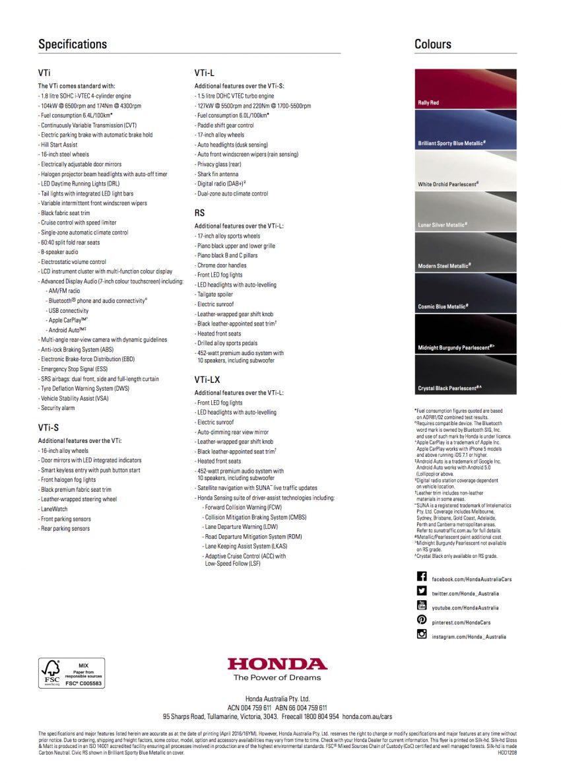 2016 Honda Civic detailed in Australia, from RM68k Image #480618