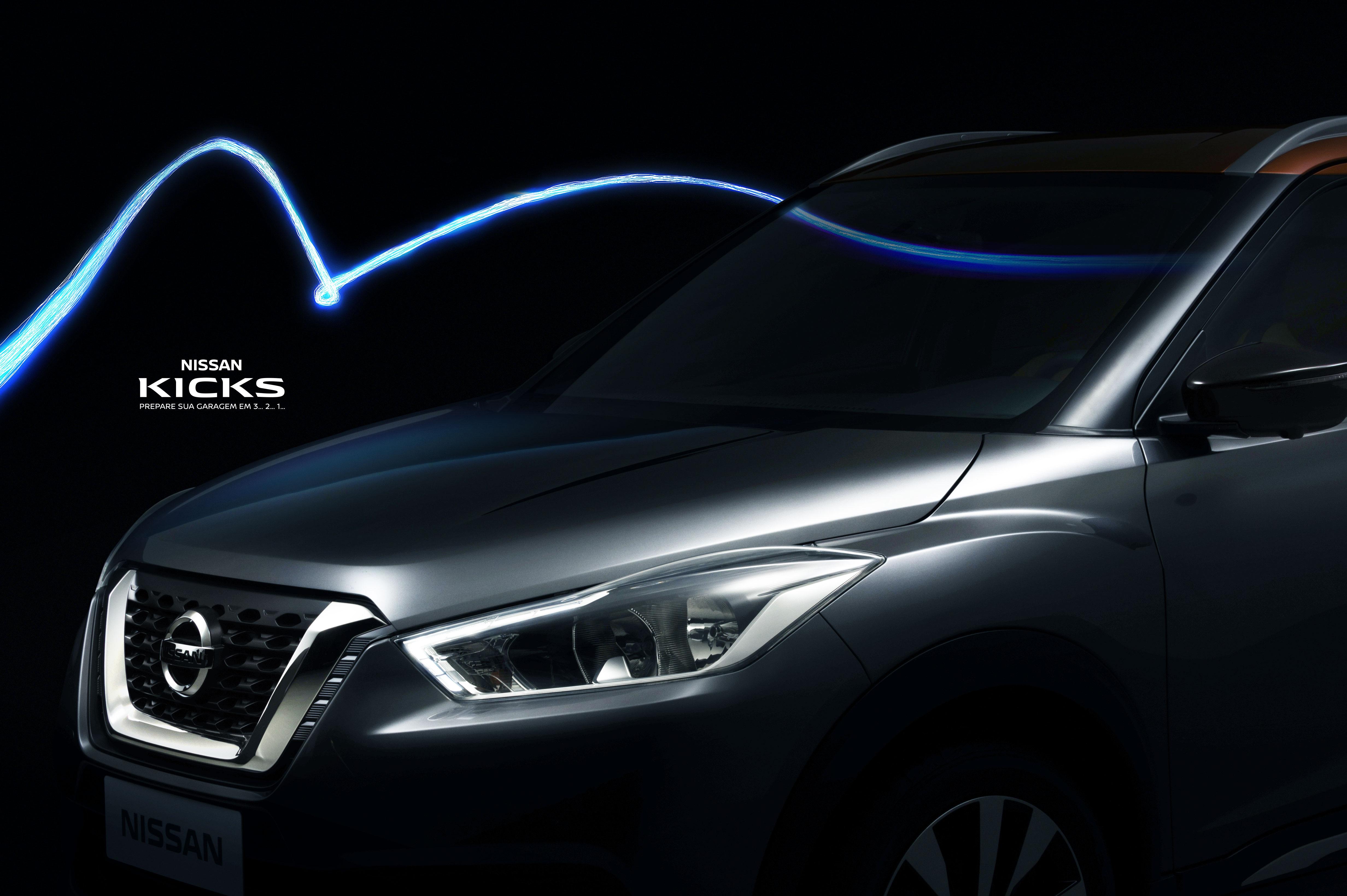 Nissan Kicks - production version front fascia shown