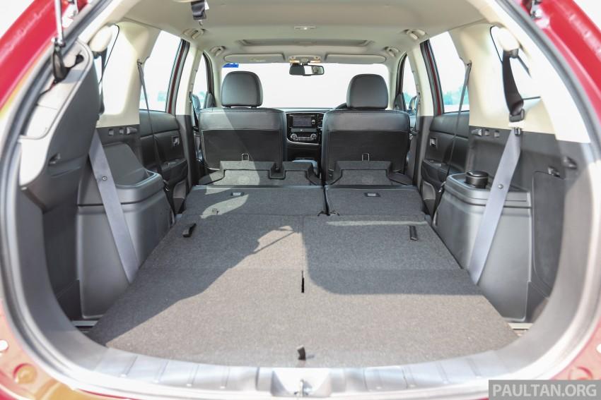 PANDU UJI: Mitsubishi Outlander pamer imej lebih segar dan karakteristik pemanduan sederhana Image #471327
