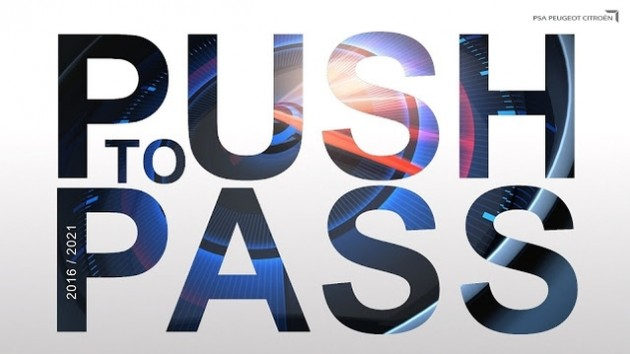 PSA Peugeot Citroen Push to Pass