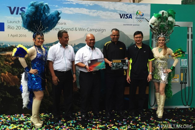 Petronas Spend & Win Visa