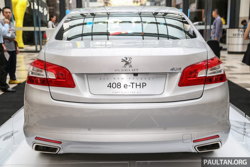 New Peugeot 408 e-THP previewed, open for booking Image #476373