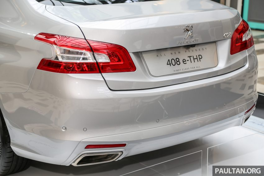 New Peugeot 408 e-THP previewed, open for booking Image #476375