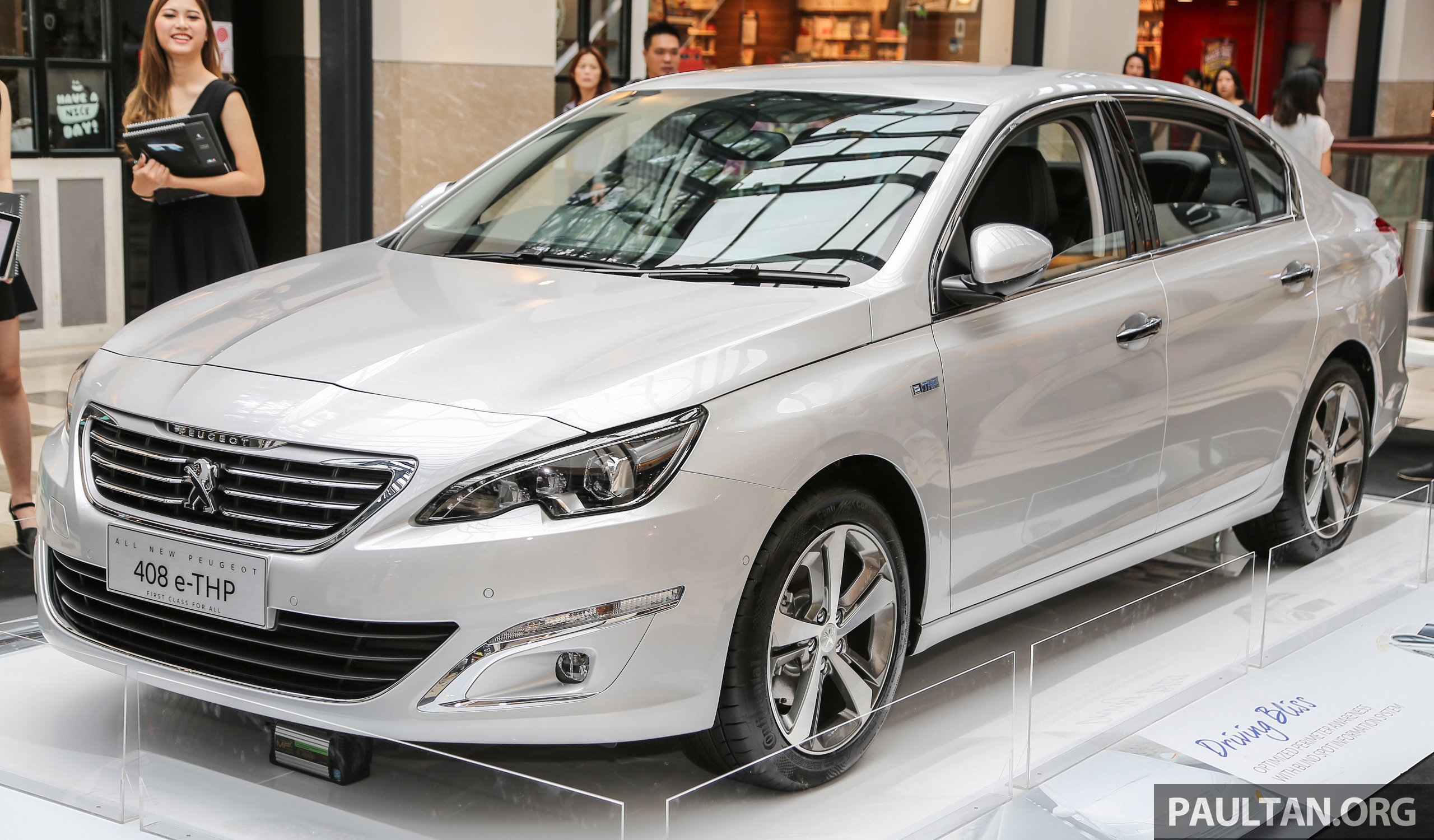 New Peugeot 408 E-THP Previewed, Open For Booking