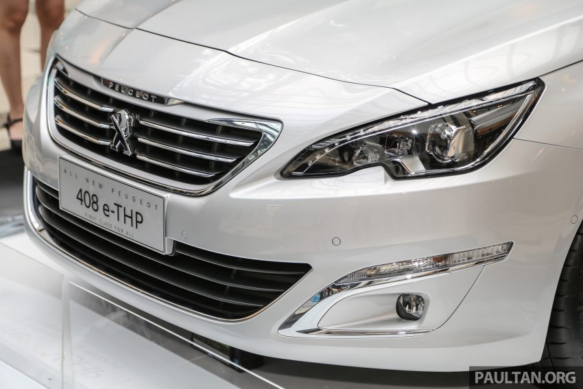 New Peugeot 408 e-THP previewed, open for booking Image #476361