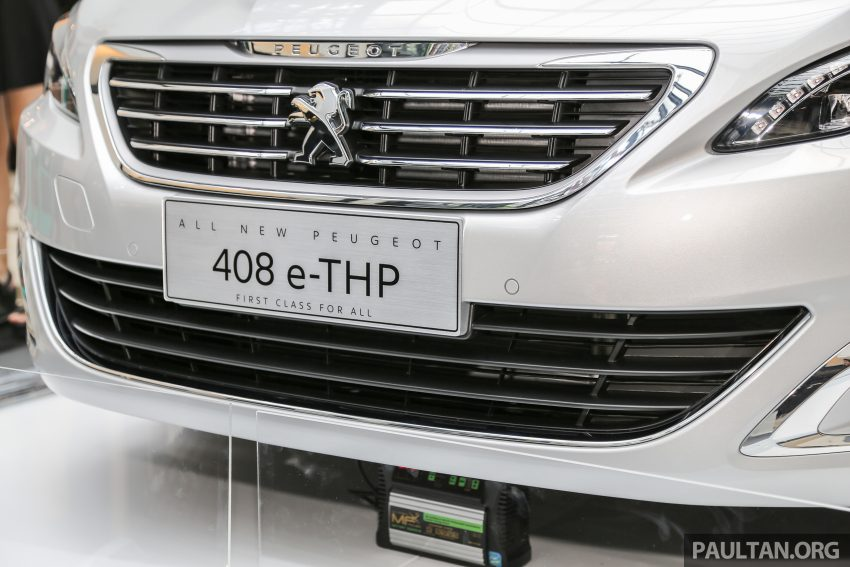New Peugeot 408 e-THP previewed, open for booking Image #476365