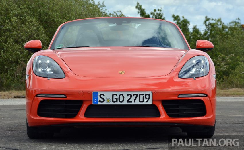 DRIVEN: Porsche 718 Boxster S – change is inevitable Image #478737