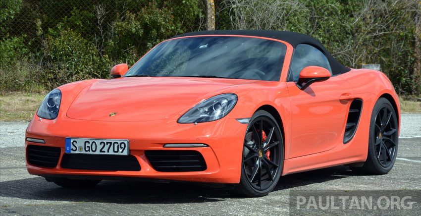 DRIVEN: Porsche 718 Boxster S – change is inevitable Image #478739