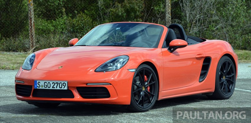 DRIVEN: Porsche 718 Boxster S – change is inevitable Image #478740