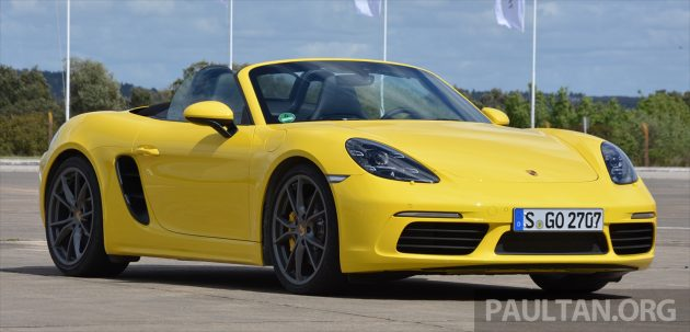 Porsche 718 Boxster S Review 14