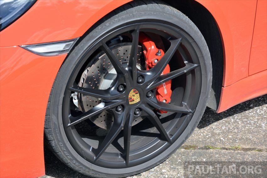 DRIVEN: Porsche 718 Boxster S – change is inevitable Image #478748