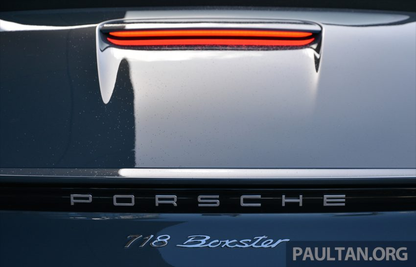 DRIVEN: Porsche 718 Boxster S – change is inevitable Image #478765