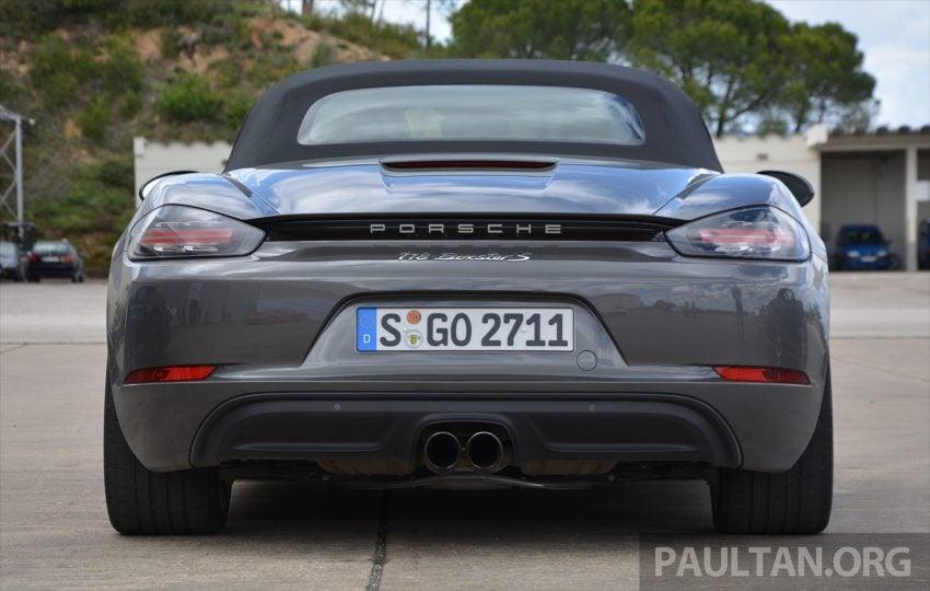 DRIVEN: Porsche 718 Boxster S – change is inevitable Image #478731