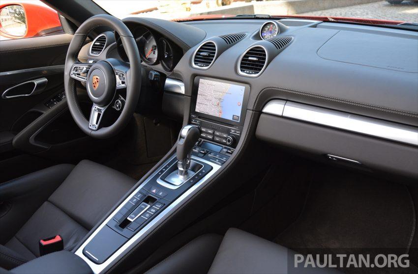 DRIVEN: Porsche 718 Boxster S – change is inevitable Image #478769
