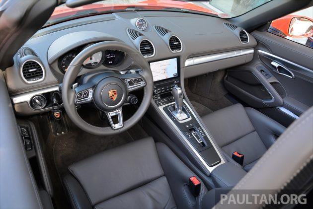 Porsche 718 Boxster S Review 42