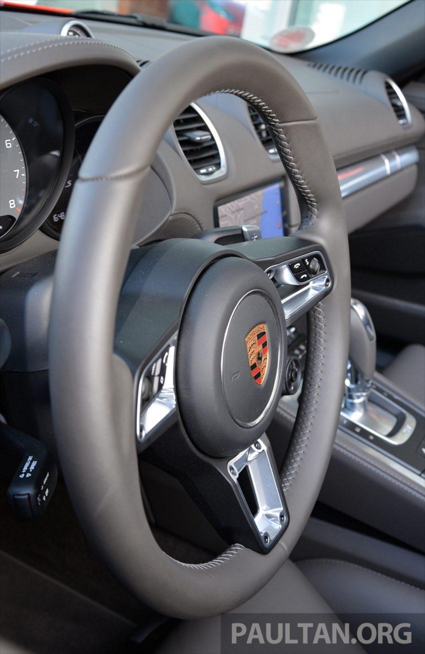 DRIVEN: Porsche 718 Boxster S – change is inevitable Image #478772