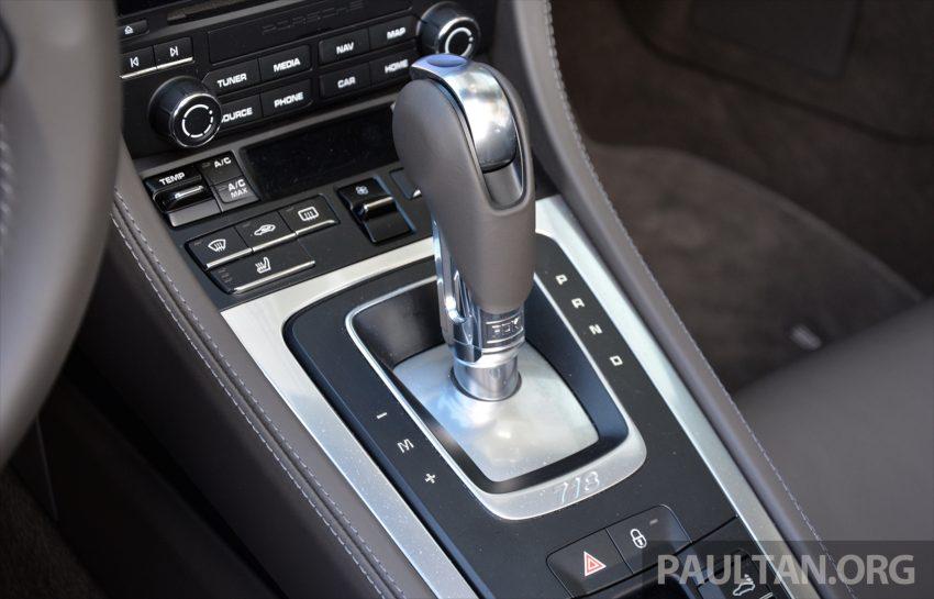 DRIVEN: Porsche 718 Boxster S – change is inevitable Image #478776