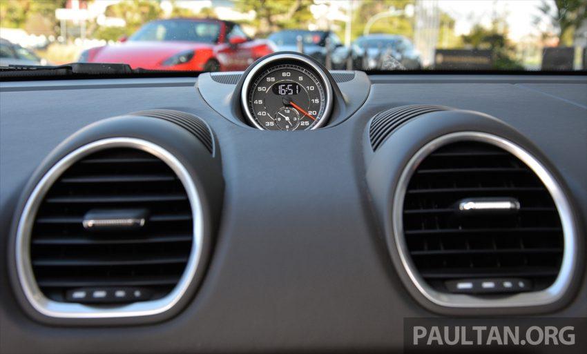 DRIVEN: Porsche 718 Boxster S – change is inevitable Image #478781