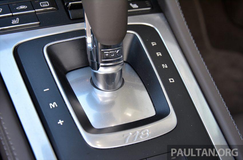 DRIVEN: Porsche 718 Boxster S – change is inevitable Image #478783