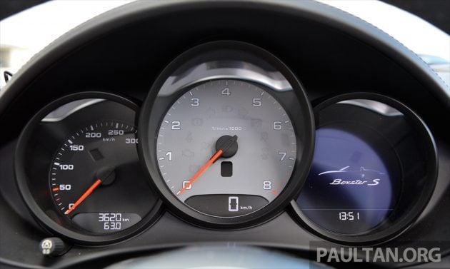 Porsche 718 Boxster S Review 66
