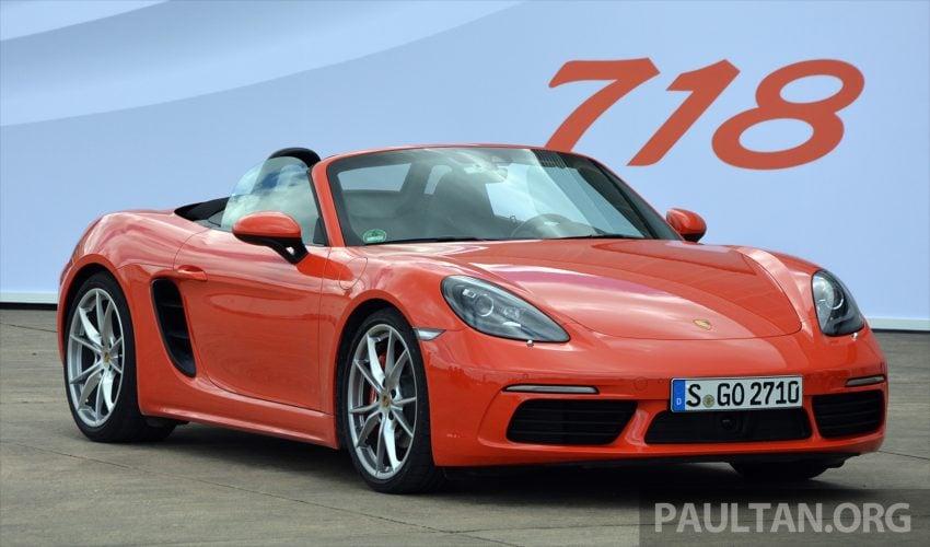 DRIVEN: Porsche 718 Boxster S – change is inevitable Image #478734