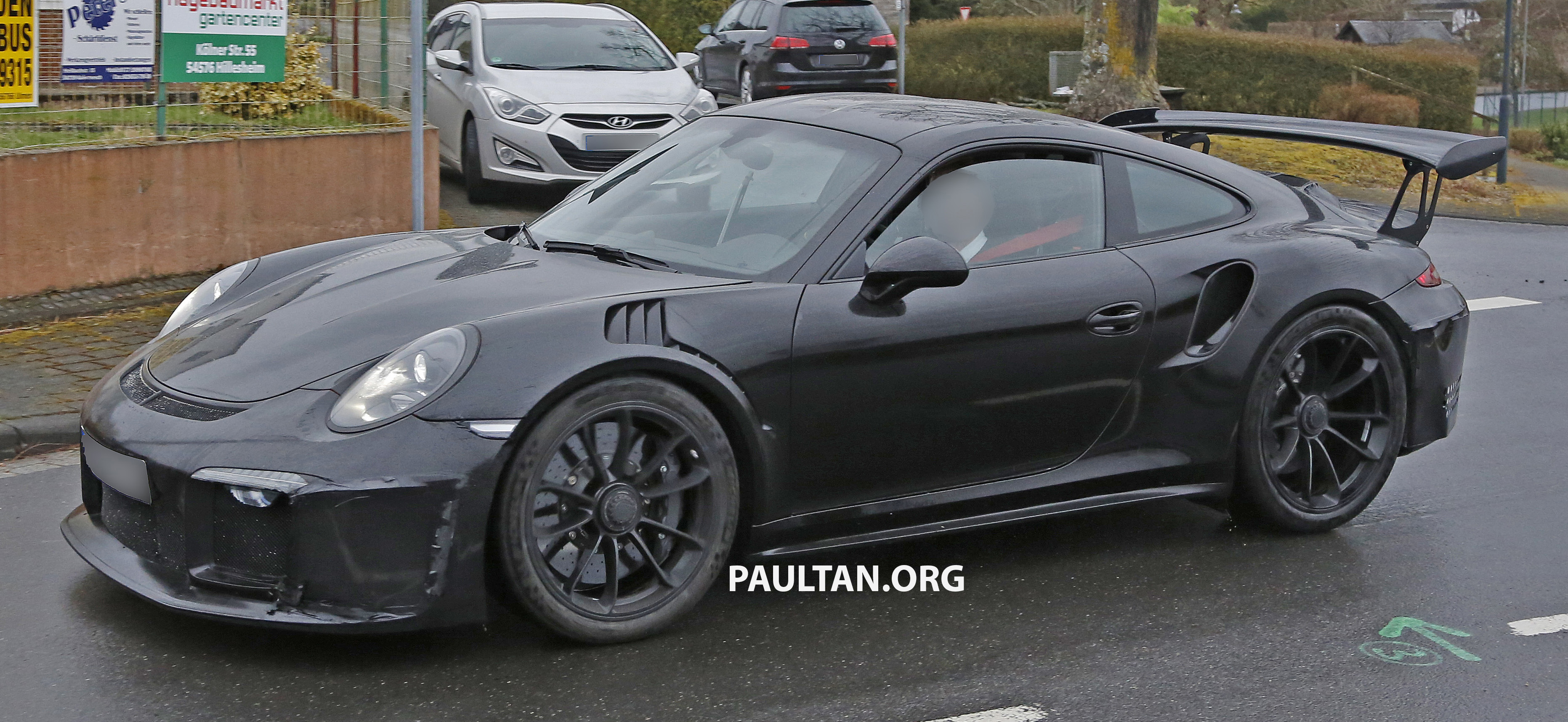 Spied Porsche 911 Gt3 Rs Facelift Bigger Engine Image