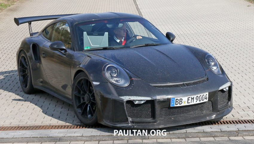 SPIED: Porsche 911 GT3 RS facelift – bigger engine? Image #478267