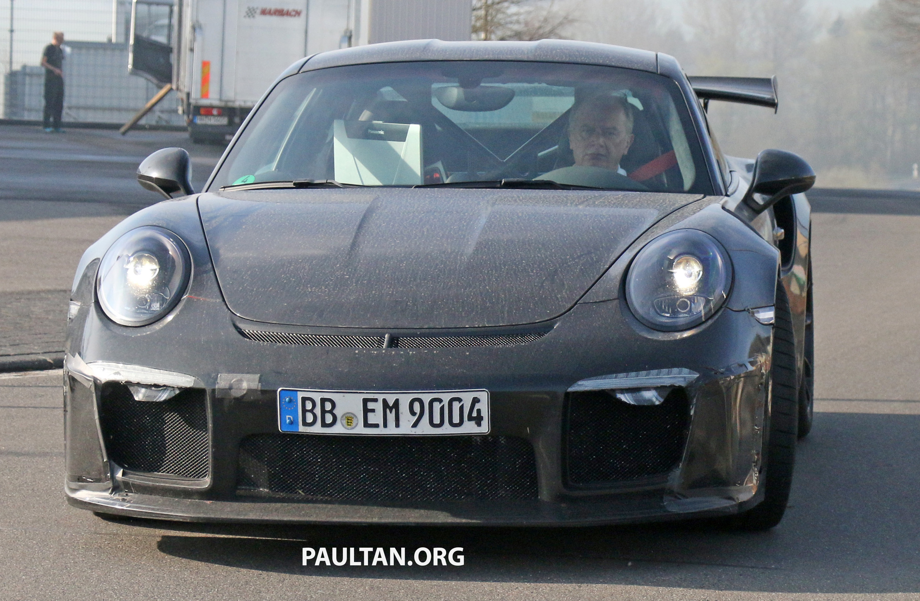 Spied Porsche 911 Gt3 Rs Facelift Bigger Engine Paul