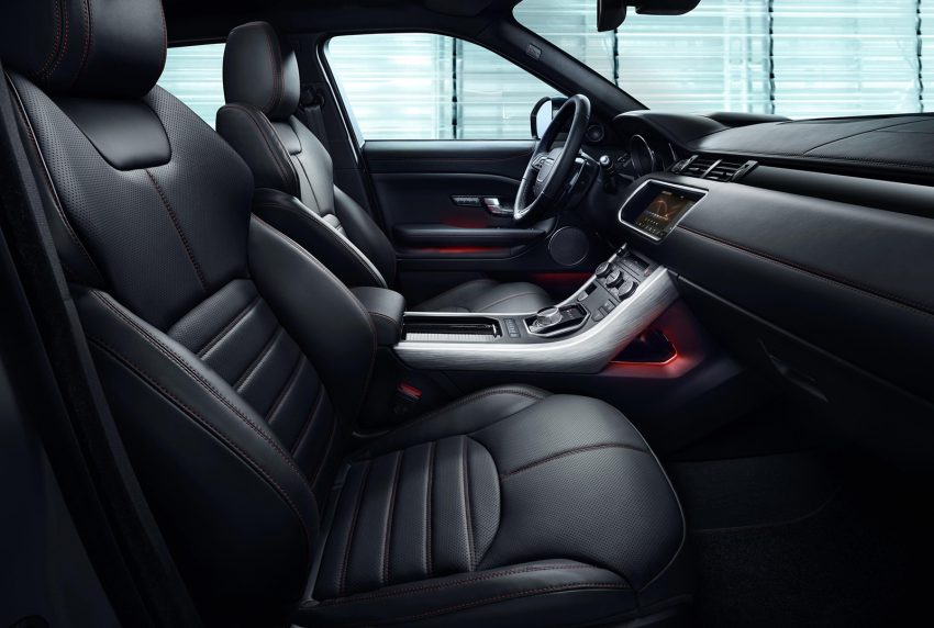 Range Rover Evoque Ember Special Edition unveiled, 2017 MY brings InControl Touch Pro infotainment Image #480177