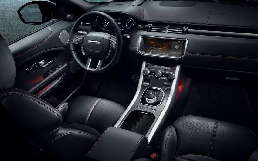 Range Rover Evoque Edisi Istimewa Ember diperkenalkan, menampilkan InControl Touch Pro Image #480230