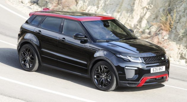 range rover evoque ember special edition unveiled 2017 my brings incontrol touch pro infotainment. Black Bedroom Furniture Sets. Home Design Ideas