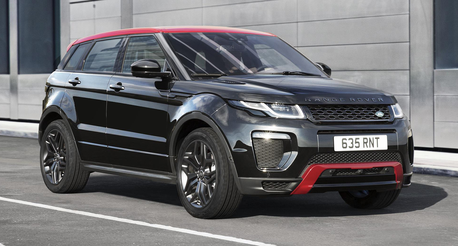 range rover evoque ember special edition unveiled 2017 my. Black Bedroom Furniture Sets. Home Design Ideas