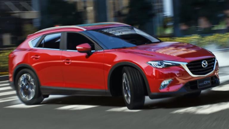 Video Mazda Cx 4 Struts Its Stuff In The Digital World
