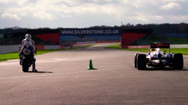 Which is best, a Formula 1 car or a superbike?