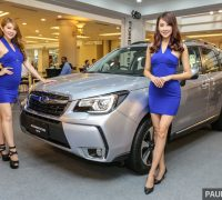 Subaru Forester launch event 2